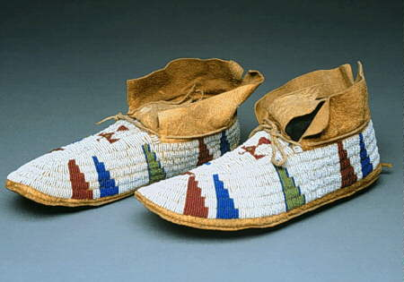 Native American Varieties of Moccasins - Cheyenne