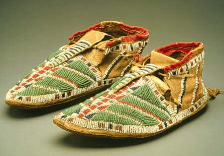Native American Varieties of Moccasins - Sioux