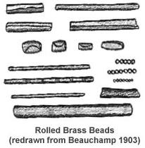 metal beads from New York