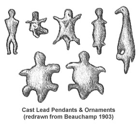cast lead ornaments
